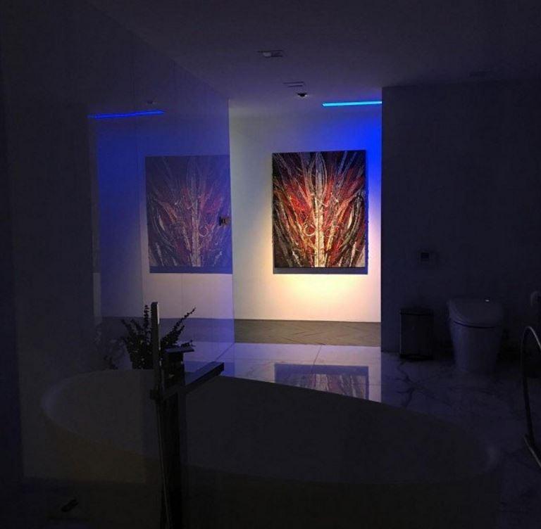 18張韓星T.O.P「8000萬首爾豪宅內部照」流出!超狂藝術品堆滿屋「1:1水晶鹿」比羅浮宮還要美!