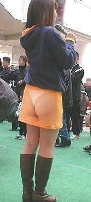 日本最新「透明小褲褲」流行,會讓人不得不多看幾眼!