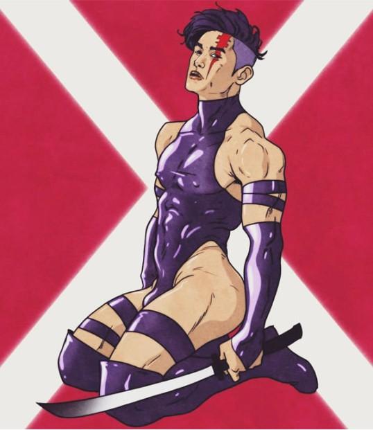 11個最性感「女英雄」變成超「辣男版」,#8毒藤「男」超豐滿啊!