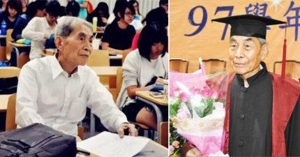 107歲人瑞「終於拿到博士學位」破金氏紀錄!看起來不到70歲「3大長壽秘訣」睡到爽超重要!(影片)