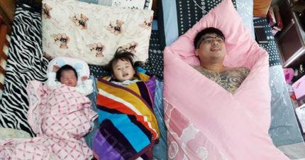 媽媽PO「我的3個小孩」幸福合照網路爆紅!網友笑歪「狠戳破亮點」!
