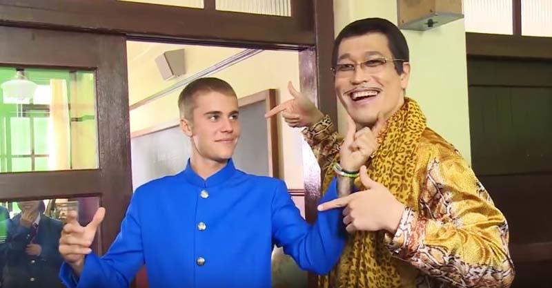 PIKO太郎跟「恩人小賈斯汀」合體爽跳超爆笑《PPAP》!他說:「我要改名叫賈斯汀PIKO太郎」!(影片)