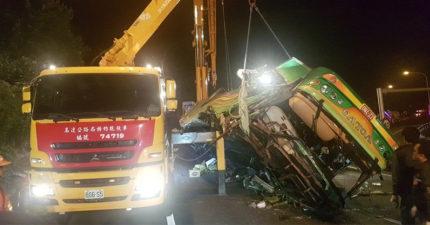 遊覽車「車禍32死」,日本網友:「去過台灣根本不意外」!