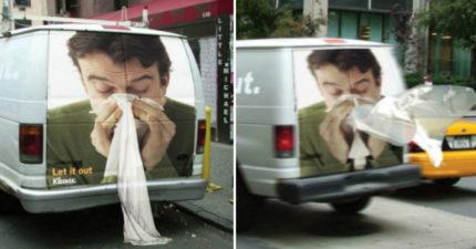 13張會將你的眼神綁架的「超級創意廣告」照片