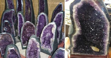 他從小好奇「紫水晶石」是天然還是人造,專家分享「影片」讓網友長知識!