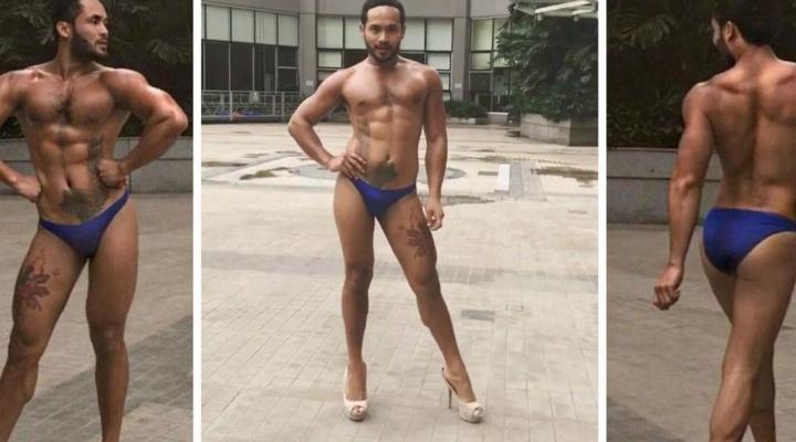 菲律賓猛男「穿高跟鞋的夢幻走姿」,比女生美「700萬點閱」網友看到「入迷」!(影片)