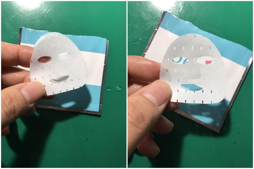 打開試用包驚見「5公分超迷你面膜」秒傻眼,網友笑歪:「可以給芭比娃娃用!」