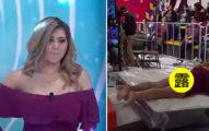女星被懷疑「太心機」,上節目玩跳床「沒穿小褲褲」觀眾被閃光彈閃瞎!