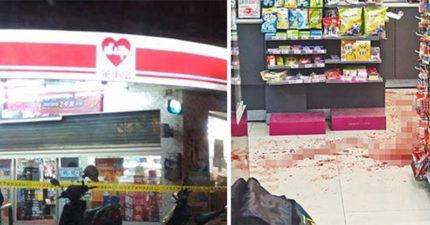超商搶案店員狠砍3刀還「斷掌」已經很慘了,居然因「太忙」沒勞保...