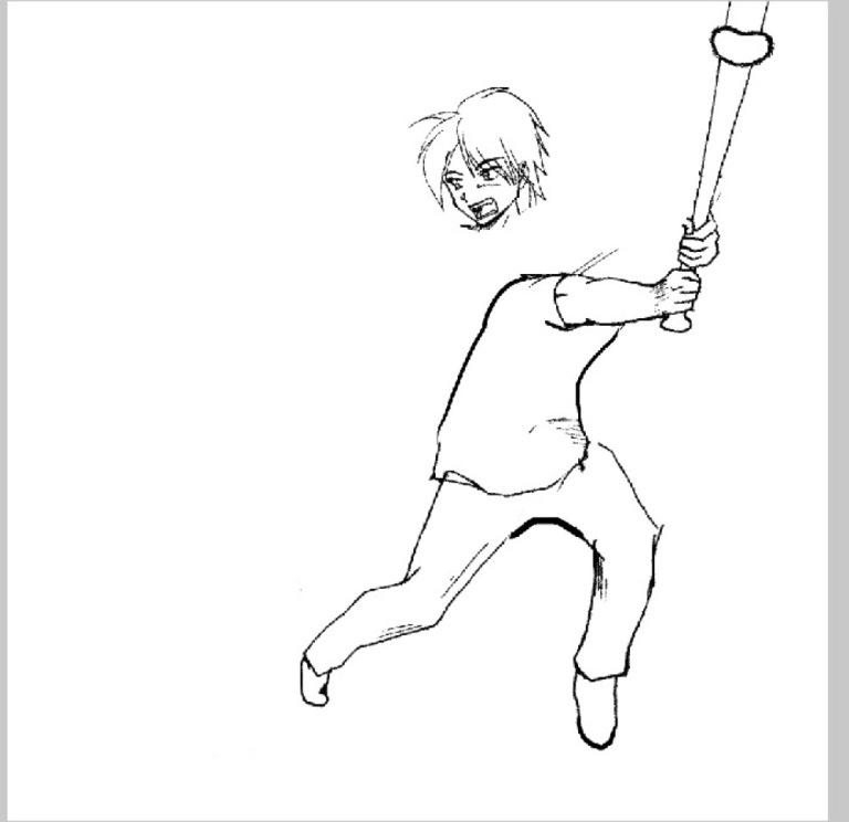 菜鳥畫家找人「求助」畫太醜的圖 高手漫畫家用iPhone「23個步驟」P成超專業神作!