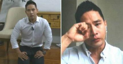 《等不及》歌手劉承俊被韓國政府最終判「再也無法踏入韓國」,下跪「只要韓國政府願意」沒有用!(影片)