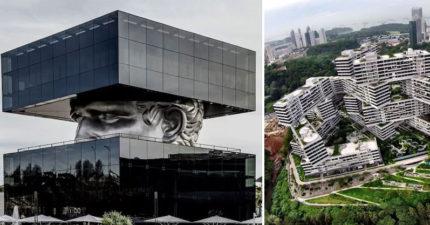 12座會讓外星人來都會做筆記的「地表最狂人造建物」 新加坡超扯「模擬市民」房子!
