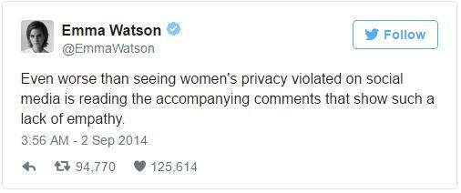 艾瑪華森驚傳「全裸泡澡露點照」遭駭客外流!發言人出面「證實照片被盜」大咖金髮女星也是受害者!