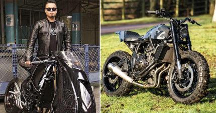 他曾勇奪冠軍「改裝車界台灣之光」,今年與YAMAHA合作打造獨一無二超帥新車!(影片)
