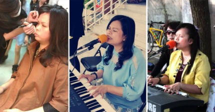 視障歌手被中國公司「強迫殘忍整形」痛到無法唱歌,台灣街頭駐唱郭台銘看到霸氣救援!(影片)