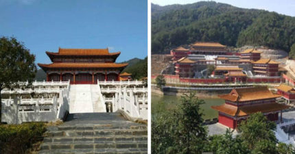 中國大學外觀如「古代皇宮」比故宮還豪華,投資43億「只供5000名學生使用」上課如上朝!(9張)