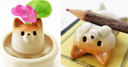 9款會讓你生活充滿快樂的超萌日本超可愛手作「治癒爆表柴犬擺設」。