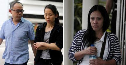 夫妻虐待菲傭15個月「只給她吃麵包還沒收護照」她暴瘦至29公斤,最後「連檢方都認為判太輕」!