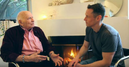 96歲老爺爺「壓抑性向90年」有結婚67年妻子,他去年勇敢出櫃:「誰會要我軟趴趴的老GG?」
