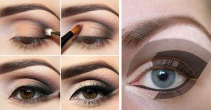 10個頂級化妝師建議「讓你的眼睛至少大一倍」化妝小技巧!#2要畫在正確的位置!