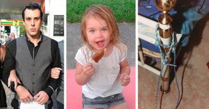 爸爸虐待3歲女兒綁床邊,冷血租客目睹嚴重到「聽起來兩個大人打架」最後沒能阻止悲劇。(非趣味)