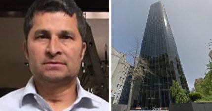 他「從47樓掉下來」沒死!10年後還生小孩。網友:「幸好他有做這個動作!」
