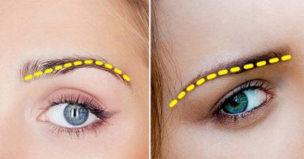 12種「眉毛形狀」,能比星座更準確分析出你的個性!