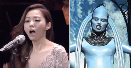 張靚穎挑戰「不是寫給人類唱個」的《第五元素》神曲,老外聽到驚覺亞洲人唱歌更強!