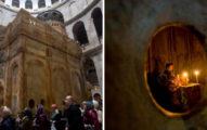 「耶穌墳墓」終於開啟開放參觀!「500年來首度曝光」信徒爭相朝聖!