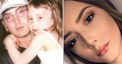 美國歌手阿姆女兒剛出生時「窮到沒地方住」現在21歲變學霸,超正模樣「南半球」閃瞎所有人!(5張)