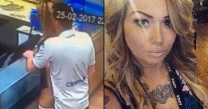 「在達美樂櫃台愛愛」的情侶,女方恐被起訴但男生卻沒事「因為角度」!