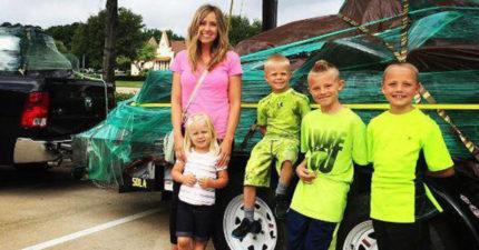 4個小孩差點被綁架,但媽媽教他們的「兩個字」救他們一命!
