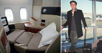 旅遊達人教大家如何用跟「經濟艙」差不多的價錢,購買「頭等艙」的機票!