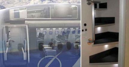 當你在飛機上悄悄睡著時,你知道空服員都「躲在哪裡」做些什麼事情嗎?