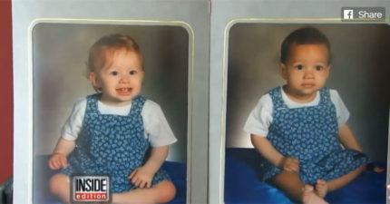 媽媽生下黑白雙胞胎,20年後兩人長相差更多「但都超美」!