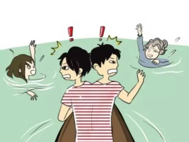 「女友和兄弟同時快淹死,你會先救誰?」,他突破「同時淹死」真相笑翻全網路!