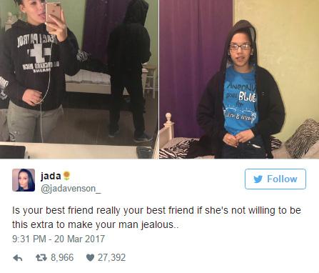 她懷疑男友出軌「串通好姐妹讓他忌妒」,好姐妹轉過身來「女網友超感動」!
