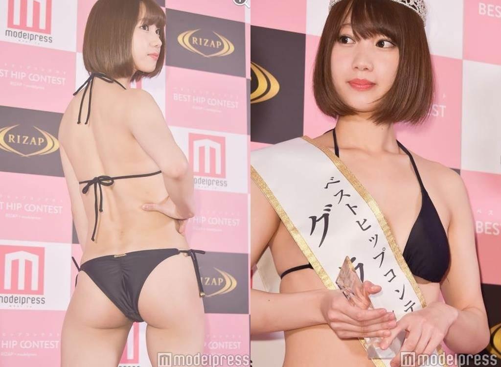 第一屆日本「超美臀女王」出爐!前女偶像靠這招「鬆垂W屁屁→性感翹臀」奪下冠軍!