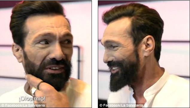 美容院決定拯救「流浪街頭25年」的邋遢大叔。神改造「變型男模特」可直接演帥《羅根》!