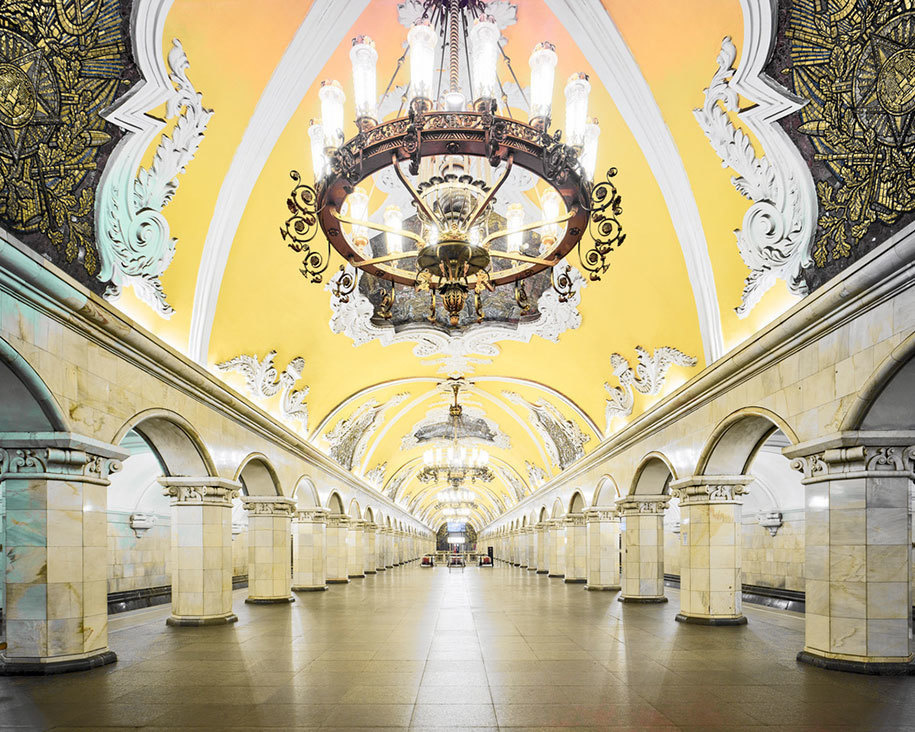 14個「走進去會馬上催眠你」的超有特色俄羅斯地鐵站。