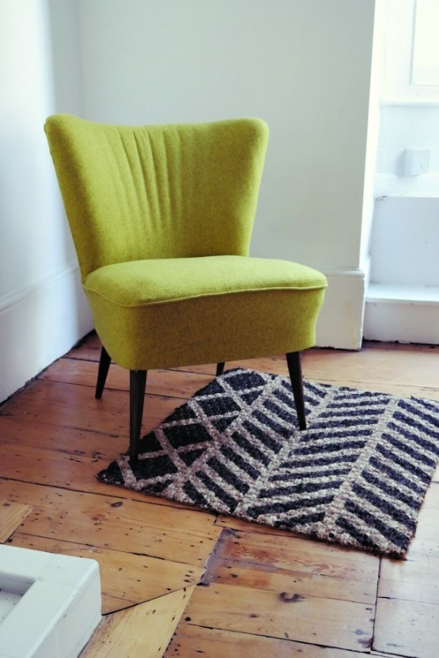 Liven up an Osted rug with a patterned coat of paint.