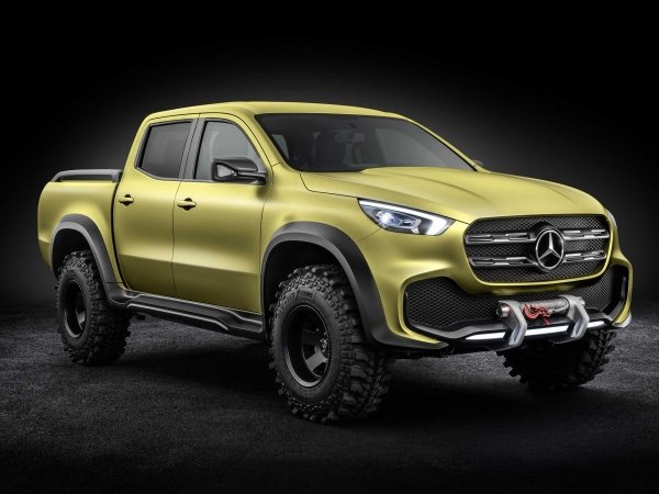 Mercedes X-Class Pickup with added Off-road specs