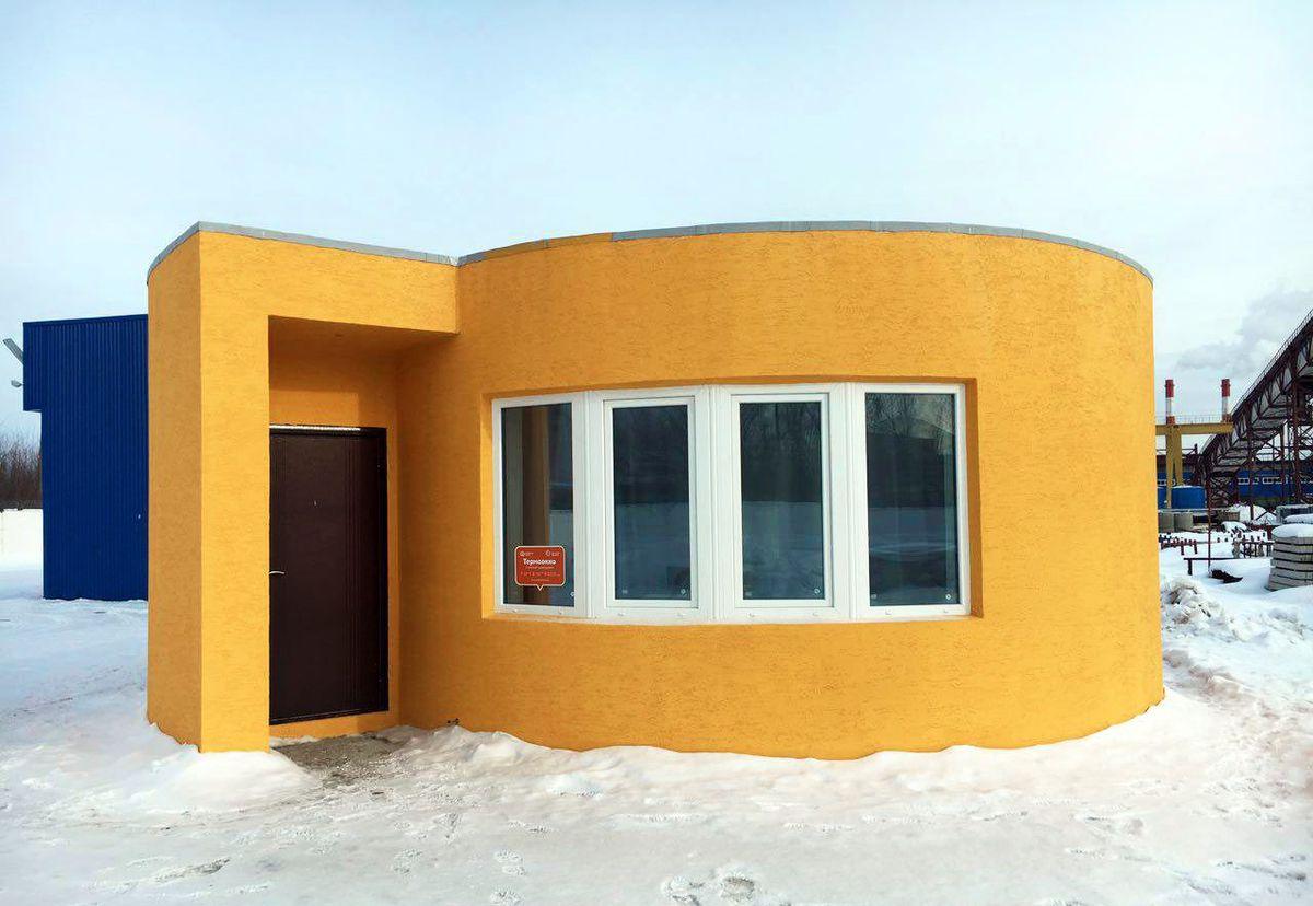 24小時「3D列印」出「一棟房子」,完成後「內部超精巧可愛」讓人超愛!