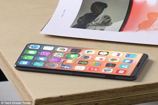 iPhone 8將有「超大5.8吋螢幕」,「最新科技太強」價格飆破30000「上市日延到10月」!
