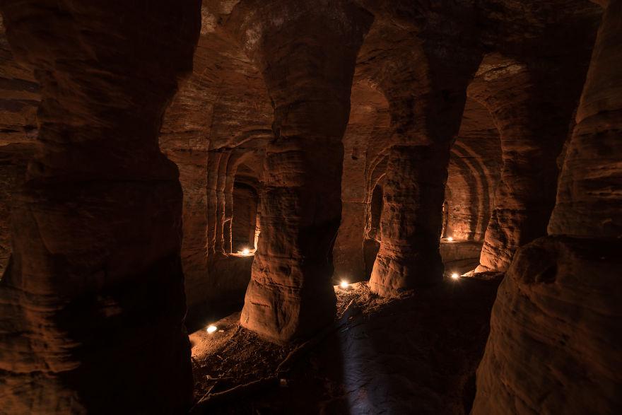 他誤闖兔子洞意外發現「700年前神秘聖殿騎士團神殿」!「超狂迷宮地道」首度公開!(9張+影片)