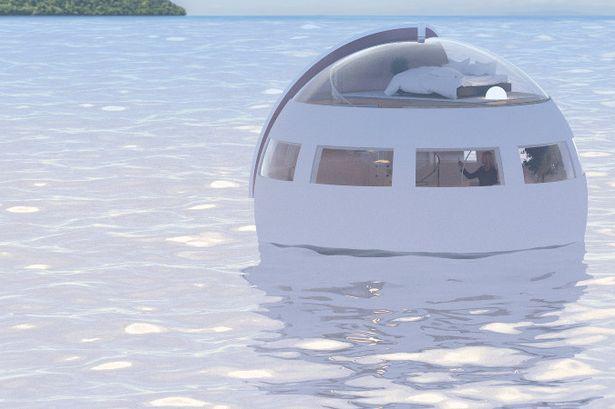 日本推出「海上漂浮球旅館」!滿天夜星伴入眠「半夜偷偷傳送」起床時已經到天堂!