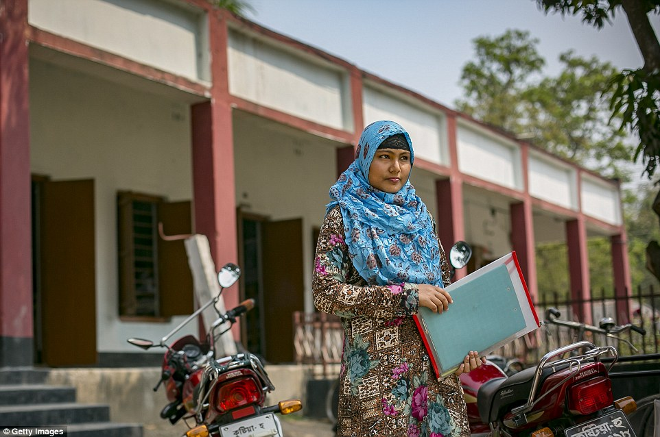 Bangladesh has the highest rate of child marriage in Asia, and ranks one of the top in the world with 52 percent of the girls married before age 18, and 18 percent married before age 15