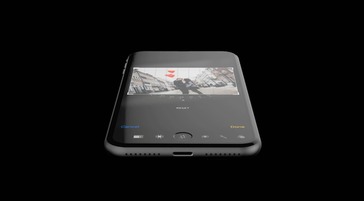 Concept design for the iPhone 8