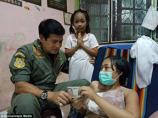 In a remarkable twist of fate , a Thai holyman reached out toMs Inthaneth and her family with a kind offer of help