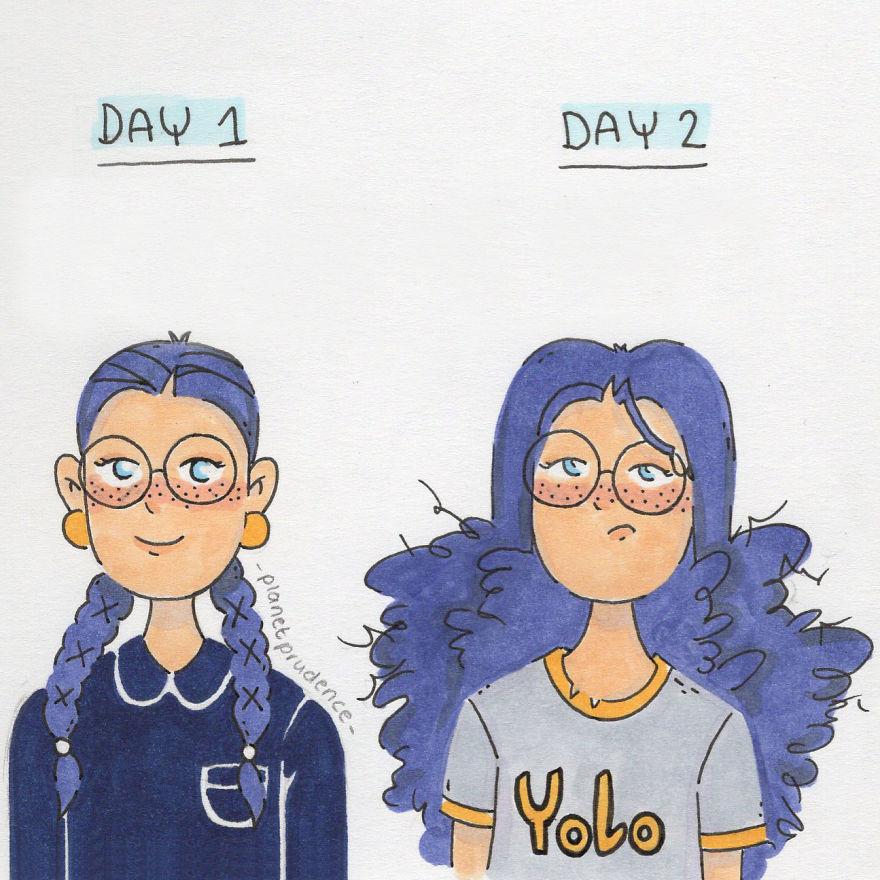 29張女插畫家畫出「男生不可能知道」的女生最真實困擾漫畫!